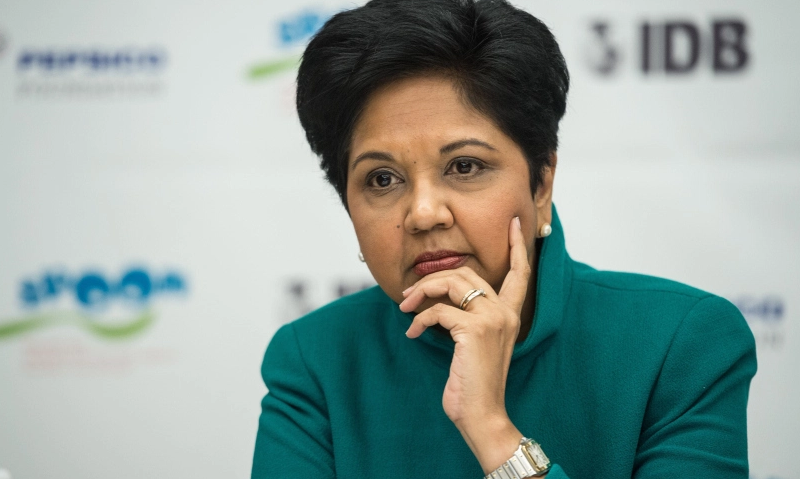 Pepsico CEO Indra Nooyi Photograph by Nicholas Kamm — AFP/Getty Images
