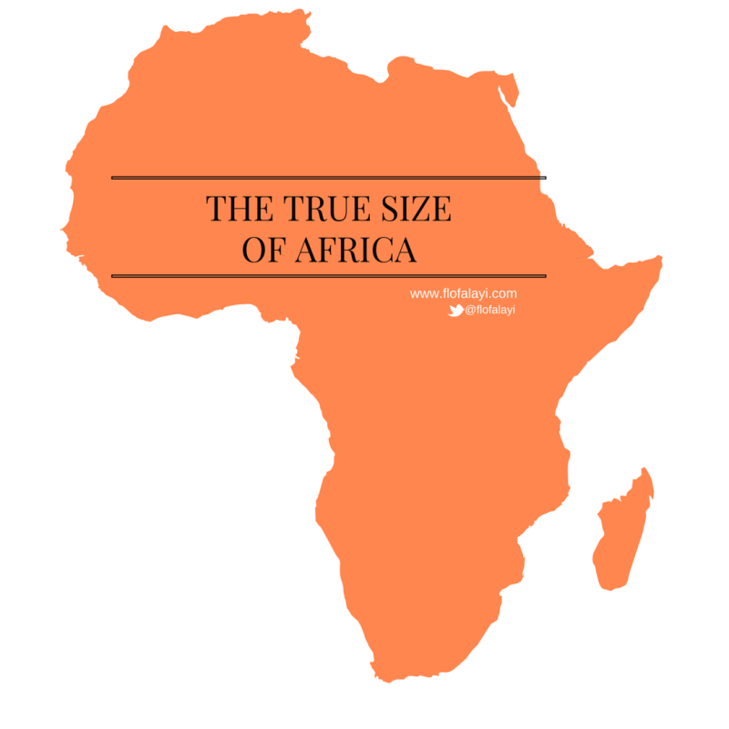 22 Jul [OPINION] The True Size Of Africa