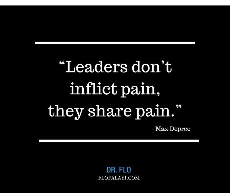 Leaders & Pain